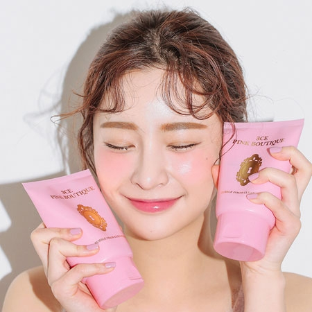 SỮA RỬA MẶT 3CE PINK BOUTIQUE BUBBLE FOAM CLEANSER