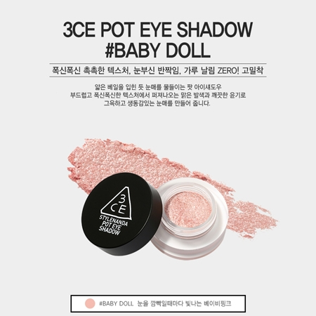 Phấn Mắt 3CE POT EYE SHADOW