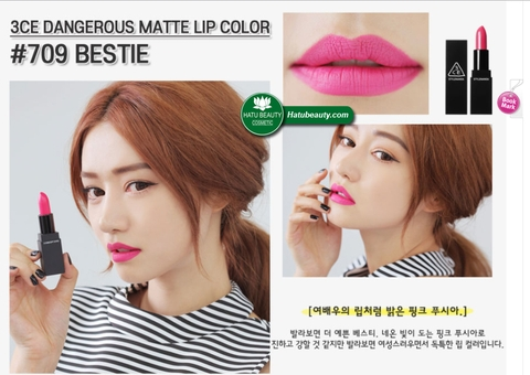 Son 3CE Dangerous Matte Lip Color