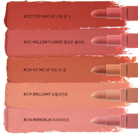 SON 3CE MOOD RECIPE MATTE LIP COLOR - MÀU 218, 219, 220, 221, 222