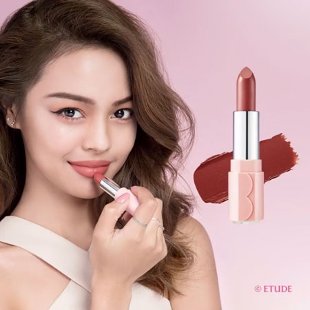 Son môi lì Etude House Dear my blooming Lips-Talk
