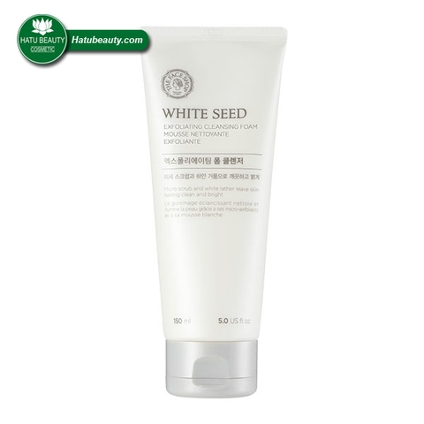 SỮA RỬA MẶT THE FACE SHOP WHITE SEED EXFOLIATING FOAM CLEANSING