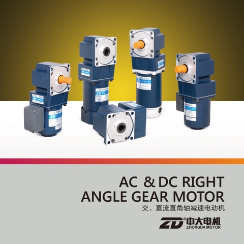 AC&DC RIGHT ANGLE GEAR MOTOR