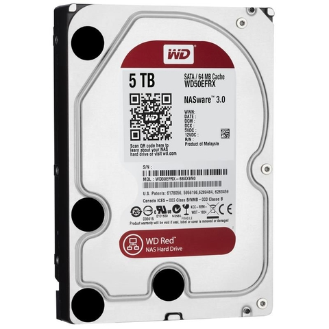 Ổ CỨNG WD HDD Red NAS 5TB 3.5