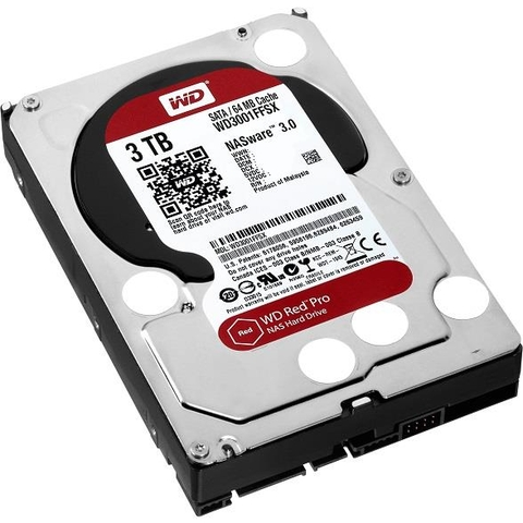 Ổ CỨNG WD HDD Red Pro NAS 3TB 3.5