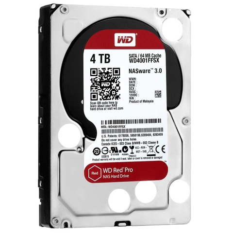 Ổ CỨNG WD HDD Red Pro NAS 4TB 3.5