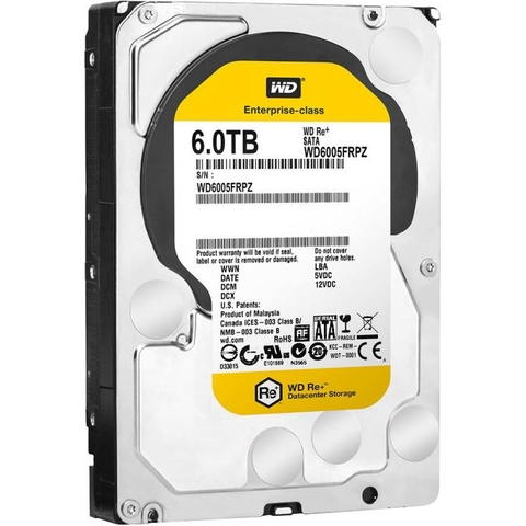Ổ Cứng SERVER HDD Enterprise RE + WD HDD 6TB, 3.5