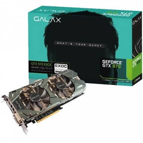 VGA GALAX GTX 970 EXOC BLACK EDITION 4GB GDDR5