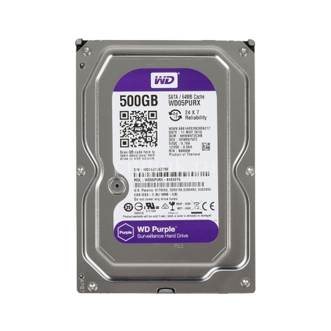Ổ CỨNG WD HDD Purple 500GB 3.5