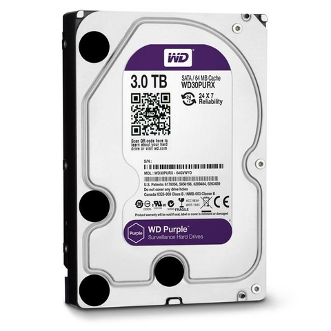 Ổ CỨNG WD HDD Purple 3TB 3.5