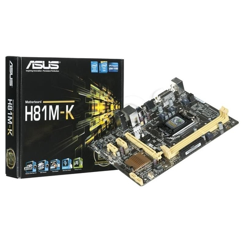 Mainboard ASUS H81M-K -E/C/SI Tray