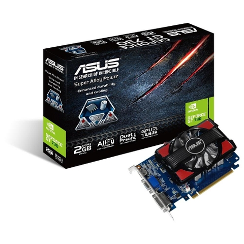 VGA ASUS GT730-2GD3 - GEFORCE GT730 - 128BITS