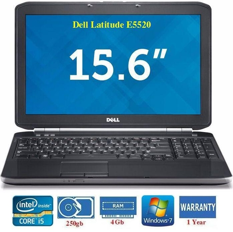 Dell Latitude E5520 Core i5-2520M