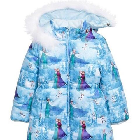 Áo khoác in hình hai chị em Elsa & Anna cực xinh