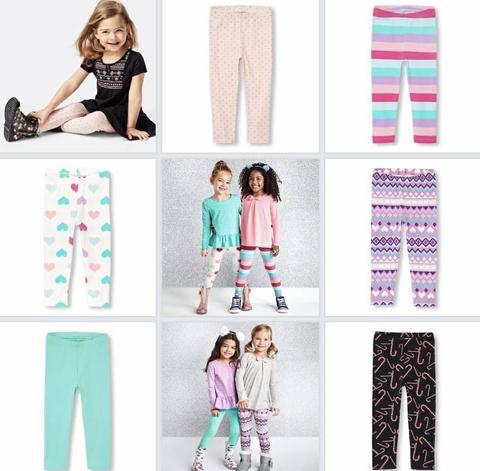 Quần có nhiều màu dành cho bé từ 1 đến 5 tuổi