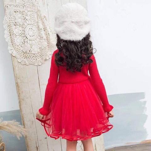 Phần voan váy mềm mại bé mặc cực xinh