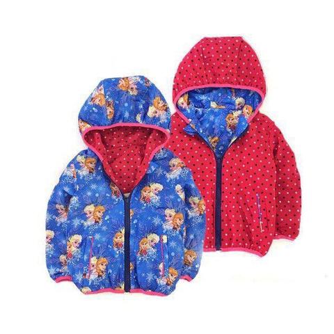 Áo khoác mặc hai mặt Elsa và Anna