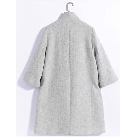 Kiểu dáng áo khoác dạ sang chảnh