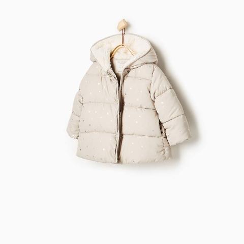 Dáng áo khoác cực xinh, ủ ấm cơ thể bé