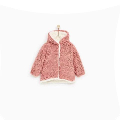 Áo khoác màu hồng xinh xắn dễ thương