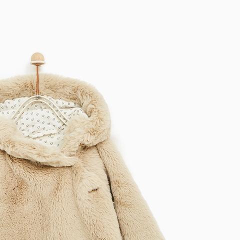 Áo khoác lông mềm hiếmthấy sờ thích vô cùng