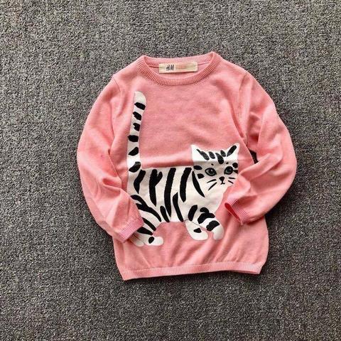 Áo len bé gái dành cho bé từ 1 đến 10 tuổi