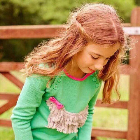 Nàng công chúa sẽ thật xinh tươi khi diện áo len này