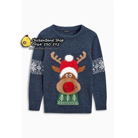 Màu sắc áo len cực Tây, thiết kế đậm chất Giáng sinh