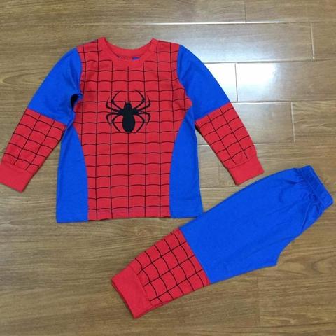 Thiết kế bộ đồ cho béđầy tinh tế với hình người nhện