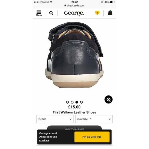 Chất liệu giày da thật đi cực mềm chân