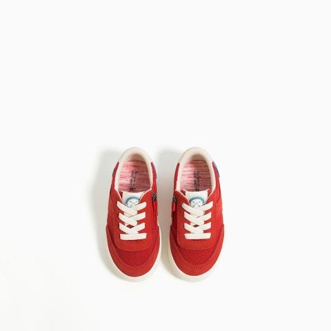 Dáng thể thao, giày Zara rất dễ đi