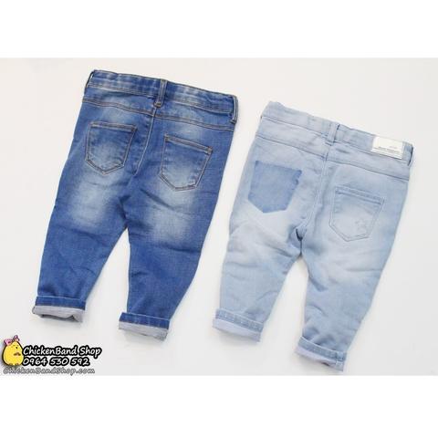Dáng quần jean phù hợp cho bé đóng bỉm