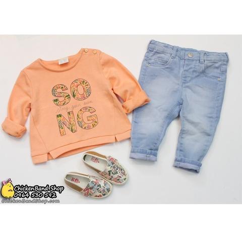 Quần jeans cực mềm dành cho bé yêu của mẹ