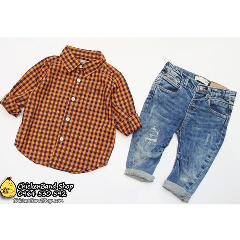 Quần jean kết hợp với áo sơ mi là nhất