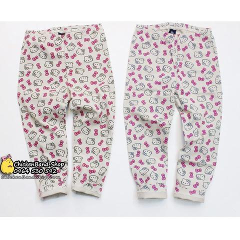 Legging Hello Kitty điệu đà cho bé