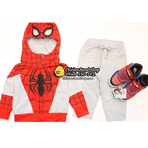Cả bộ đồ người nhện cho bé yêu của mẹ
