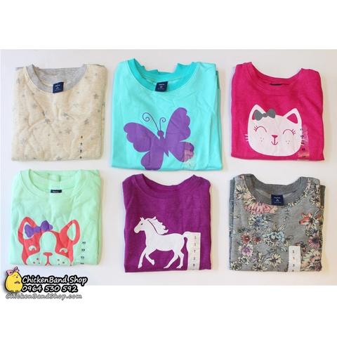 Bộ đồ có 6 màu và họa tiết khác nhau để mẹ và bé lựa chọn
