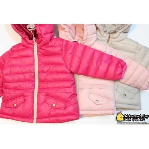 Áo khoác ba màu cực kì xinh xắn, bé tha hồ chọn