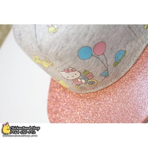 Mũ in hình mèo kitty bóng bayđáng yêu lắm nhé