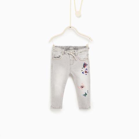 Hàng dư nên quần jean không kèm bell nhé