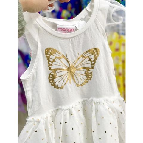 Váy trắng chất liệu cotton cho một mùa hè mát mẻ