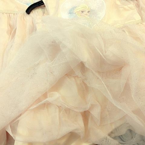 Chất liệu váy cực đẹp, chân voan xòe như công chúa