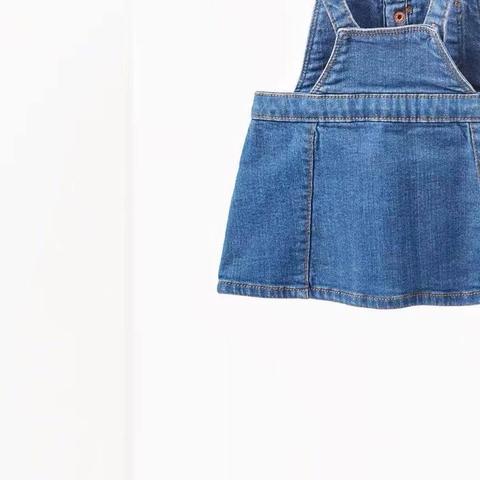 Chất jean váy yếm cực mềm, co giãn tốt  Thông tin sản phẩm: