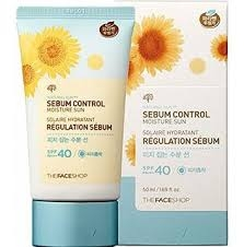 KEM CHỐNG NẮNG SPF 40 / PA +++ THE FACE SHOP