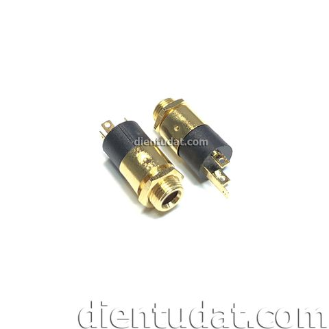 Jack Audio 3.5mm Female - Tròn
