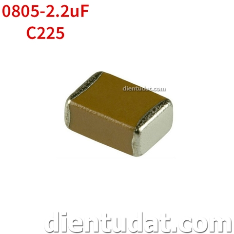 Tụ 225 2.2uF - Size 0805