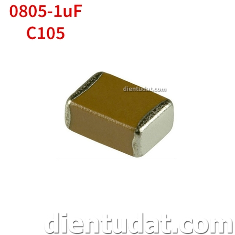 Tụ 105 1uF - Size 0805