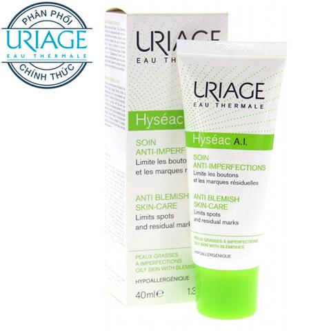 Uriage Hyséac A.I - Kem Điều Trị Mụn Chấm Điểm, Mục Bọc 40ml