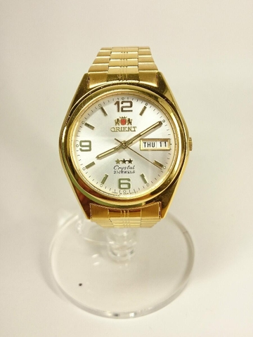 Đồng hồ Cơ Orient Crystal Gold - Made in Japan (MS 290504290)