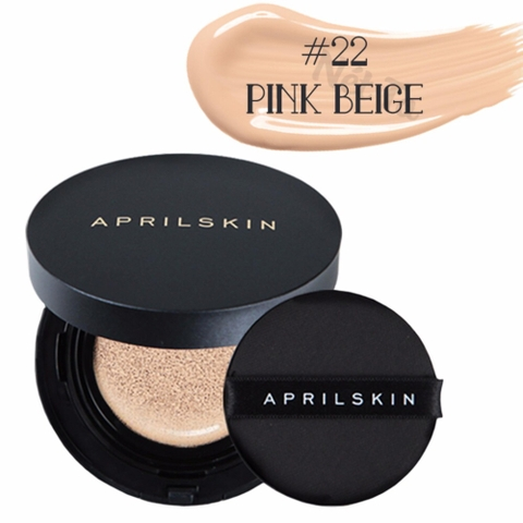 Phấn Nước April Skin Black Magic Snow Cushion 2.0 trang điểm 3 trong 1
